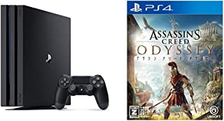 PlayStation 4 Pro ジェット・ブラック 1TB + アサシン クリード オデッセイ - PS4 セット