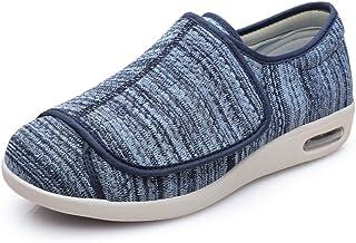 Mujer Zapatos Diabeticos,Zapatos Flojos del valgus del Pulgar, Zapatos diabéticos de Apertura Completa de los pies deforma...