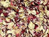 Natürliches Blüten-Konfetti, 1 Liter, biologisch abbaubar, viele Farben, Typen und Mischungen erhältlich Festival Mix