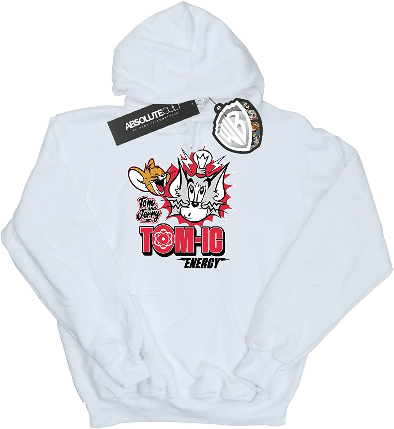 TOM and JERRY Girls Tomic Energy Hoodie