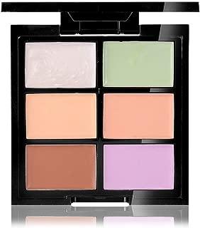 CCbeauty Cream Concealer Contour Palette Makeup Highlighter and Makeup Color Face & Eye Dark Circle Corrector Kit (Light)