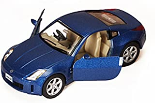 Nissan Fairlady 350Z, Blue - Kinsmart 5061D - 1/34 scale Diecast Model Toy Car
