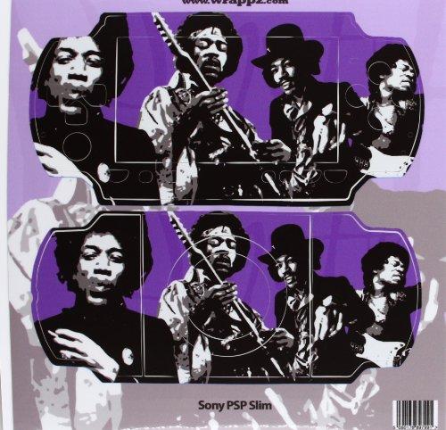 PSP Slim & Lite - Vinyl Cover: Jimi Hendrix [UK Import]