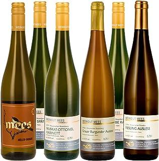 Weingut Mees WEISSWEIN LIEBLICH EDELSÜSS SÜSS PROBIERPAKET Weißwein Wein süß Deutschland Nahe Set 6 x 750 ml