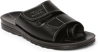 Paragon Men's Black Flip-Flops-8 UK/India (42 EU) (PU6645G)