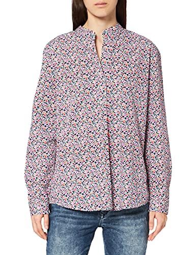 Seidensticker Damen 132302-02 Bluse, weiß, 46