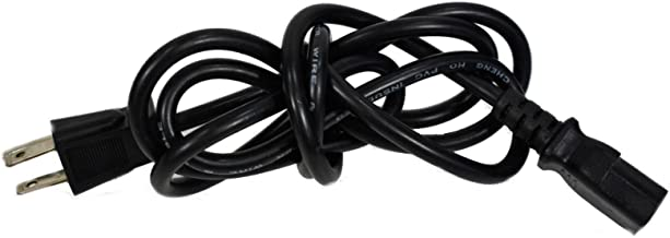 AC Power Cord Cable Plug For Sharp AQUOS HD TV LCD LC26DV28UT, LC26D42UW, LC-26D42UW, LC32D4U, LC-32D5U, LC-32D41U, LC-32D43U, LC-32D47U, LC-32D47UT, LC32D50U, LC-32D62U, LC-32E67
