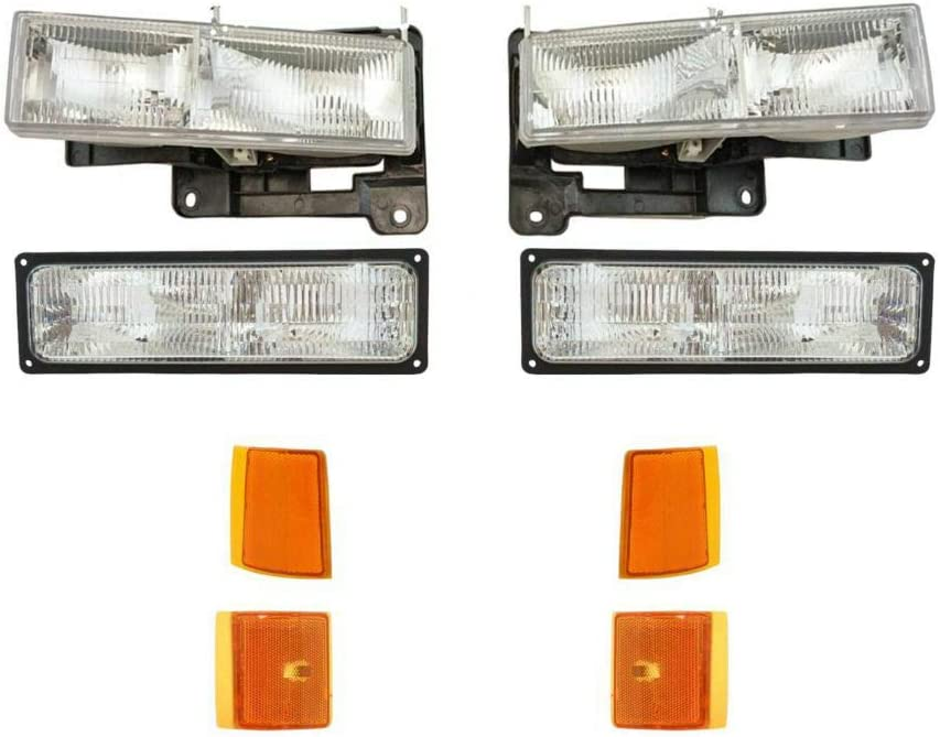 GIMAE Headlights Corner A surprise price is Max 89% OFF realized Parking Lights Kit Right Left fo Set