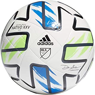 adidas MLS Nativo XXV Club Soccer Ball White/Solar...