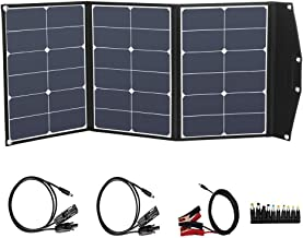 SUNGOLDPOWER 200 Watt 12V Monocrystalline Solar Panel Module Kit:2pcs 100W Mono Solar Panel Solar Cell Grade A 20A LCD PWM Charge Controller Solar+Solar Panel Connector Extension Cables+2 Sets of Z-B