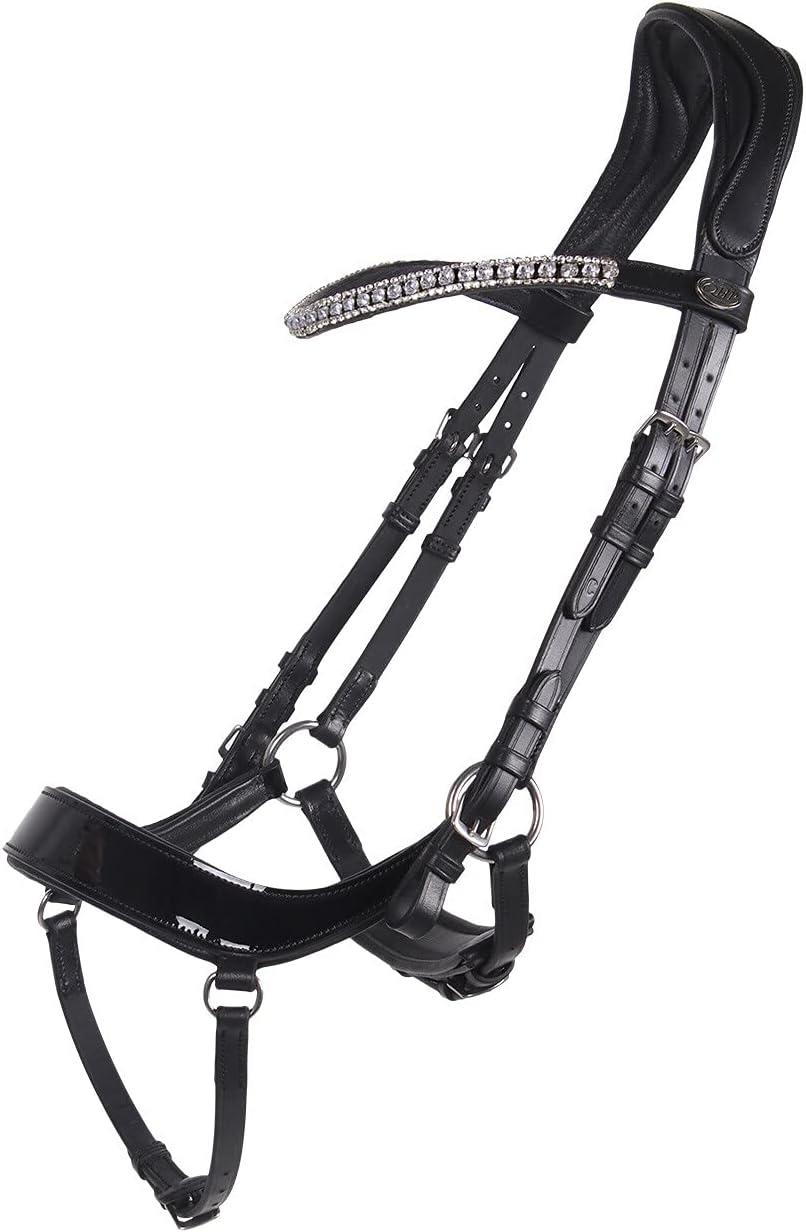 QHP Bocada Eris, anatómica, incluye correas para el cinturón (sangre caliente, negro)