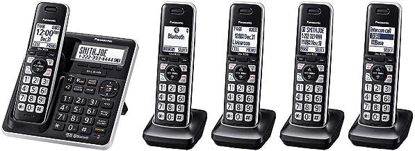 Panasonic KX-TG985 DECT 6.0 Bluetooth 5-handset Phone Bundle photo