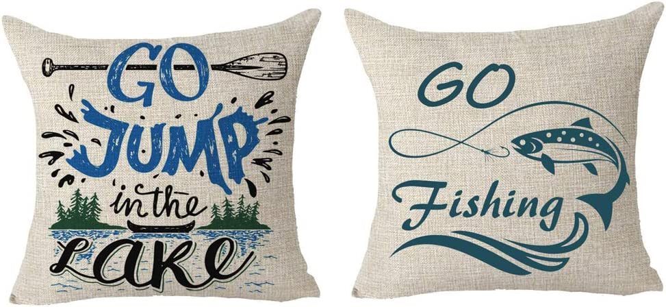 It is very popular SOPARLLY Set of 2 Saying Go Jump The in New Shipping Free B Paddle Fishing Lake