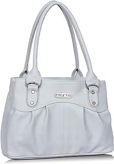 Fristo Women's Shoulder Bag (FRB-348_Grey)