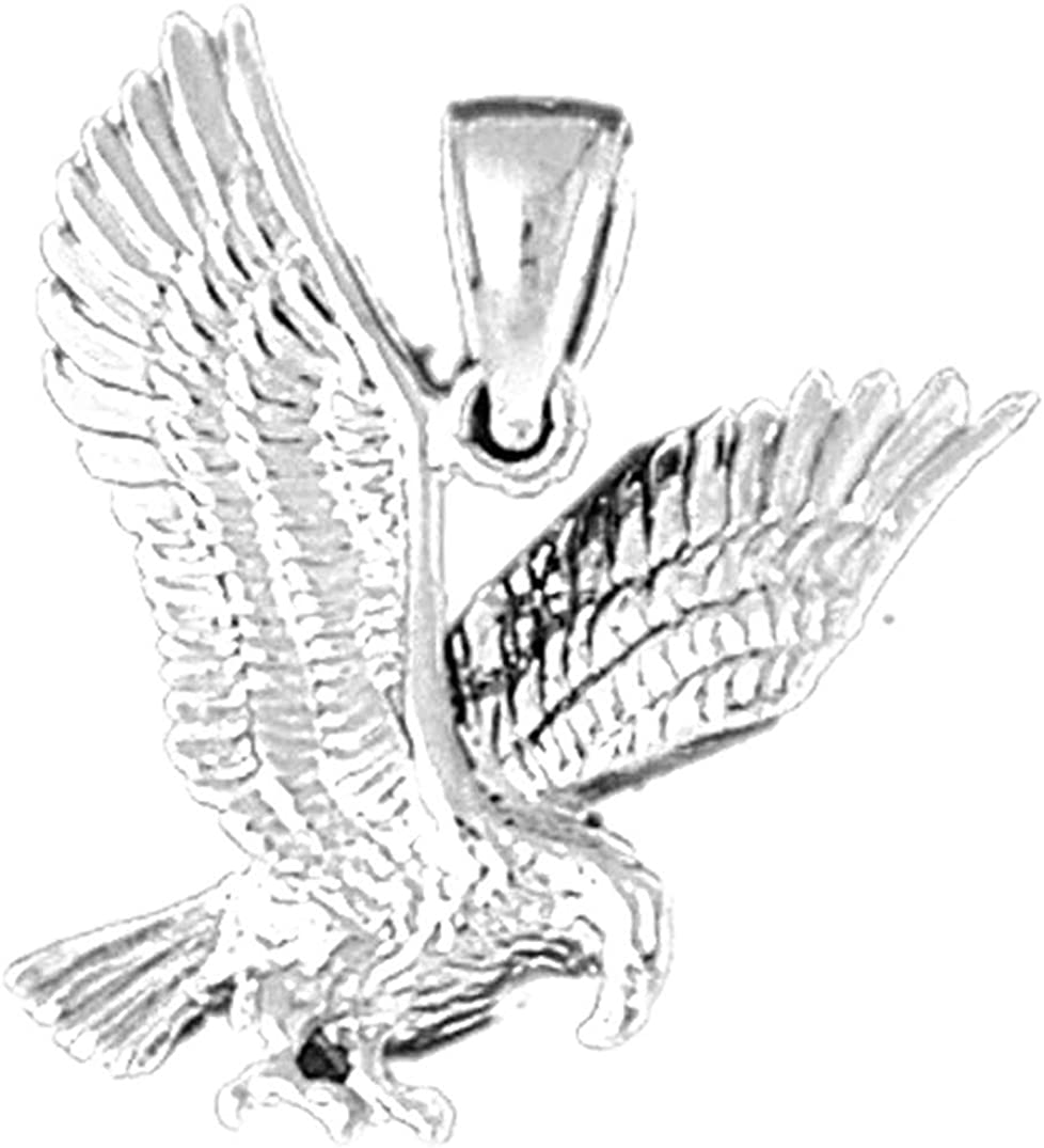 Jewels Obsession Eagle Pendant Import Sterling Max 67% OFF Silver Penda 925