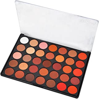 ✔ Hypothesis_X ☎ 35 Color Eyeshadow Palette Matte 35N - Professional Makeup Powder Palette with Intense Pigment