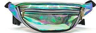 Zarapack Women's PVC Hologram Fanny Pack Bum Bag Purse Waist Bag