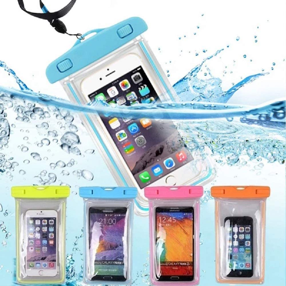 AFXOBO Waterproof Phone Bag,Universal Cell Phone Transparent Dry Bag for 6.9 inch Phone for Pool/Beach/Spa