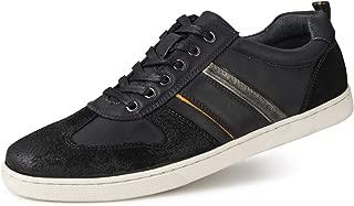 rick owens black leather low top sneakers