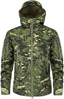 Shark Skin Soft Shell Military Tactical Jacket Men Waterproof Fleece Clothing Camouflage Windbreakers