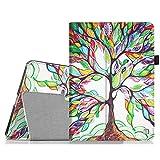 Fintie Apple iPad mini 1 / 2 / 3 Hülle - Slim Fit Foilo Kunstleder Schutzhülle Tasche Etui Case Cover mit Auto Schlaf / Wach, Standfunktion für iPad mini 3 / 2 / 1, Liebesbaum
