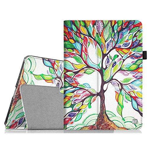 Fintie Hülle kompatibel mit iPad Mini 1/2 / 3 - Slim Fit Foilo Kunstleder Schutzhülle Tasche Etui Hülle Cover mit Auto Schlaf/Wach Funktion für iPad Mini 3/2 / 1, Liebesbaum