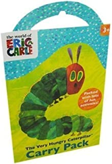 Alligator Books Very Hungry Caterpillar Carry Pack, Plastic, Multi-Colour