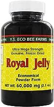 Y.S. Eco Bee Farms, Royal Jelly, Economical Powder Form, 2.1 oz (60,000 mg)