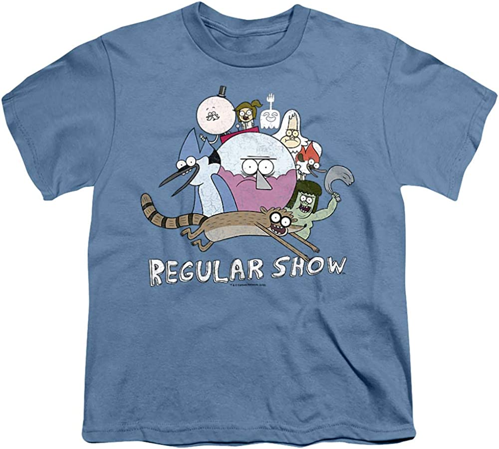 Regular Show Surrounding Benson Unisex Youth T Shirt