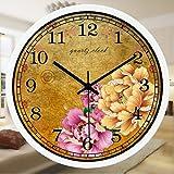 Reloj De Pared De Cuarzo Para Con Decoración De La Sala Reloj De Cuarzo Reloj...