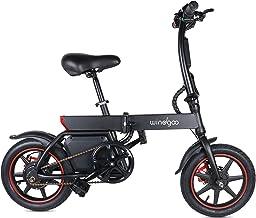 Windgoo Elektrische fiets B20, 36 V, 6,0 Ah, 350 W, zwart e-bike, vouwfiets