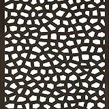 Intermas nets M281483 - Panel decorativo nortene mosaic 1 x 2 m antracita