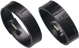 black crocodile strap