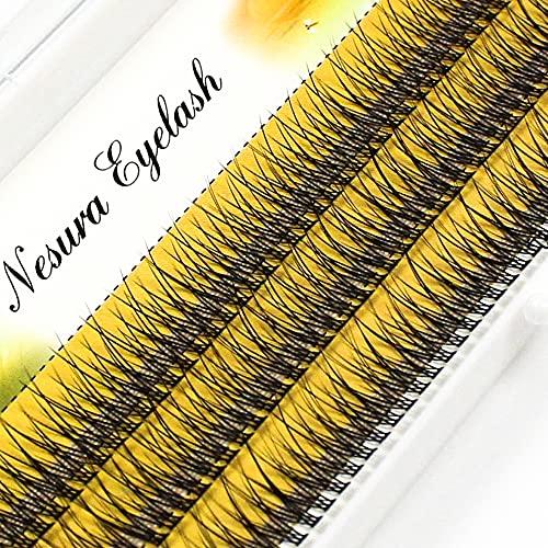YQSBYI Tour de Poisson Cils de 8mm / 10mm / 12mm Tail Dove Individual Extensions (Curl : C, Length : 8mm)