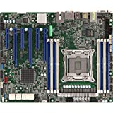 ASRock Rack X299 WS/IPMI LGA2066/Intel X299/DDR4/SATA3&USB3.0/ V&2GbE/ATX placa base para servidor