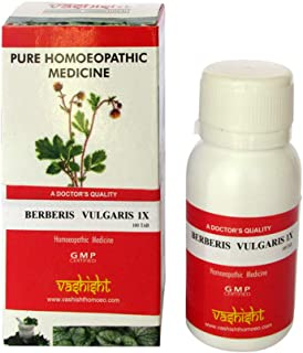 Berberis Vulgaris 1x Pure Mother Tincture Tablets, Pack of 3 (300 Tablets), for Kidney Cleanser, Treats Gall Stones, Joint Pain