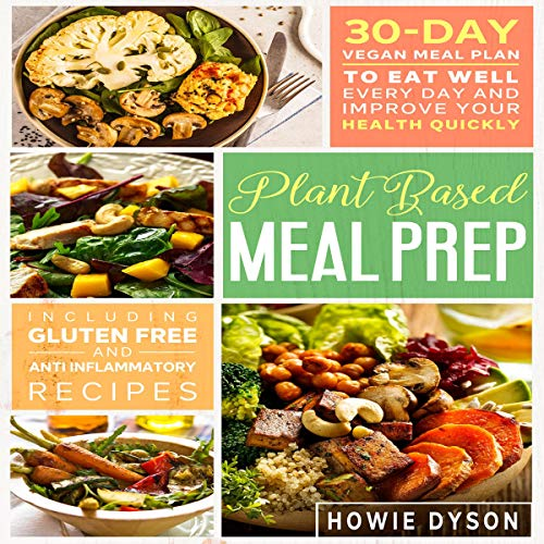 Plant Based Meal Prep cover art