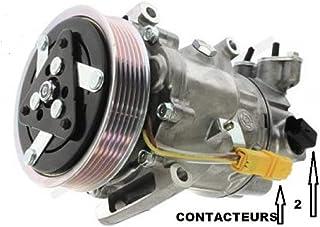 Compressor van Technikcool voor airconditioning, originele compressor, gemaakt door onze fabriek in Frankrijk O.E. M. 648701.