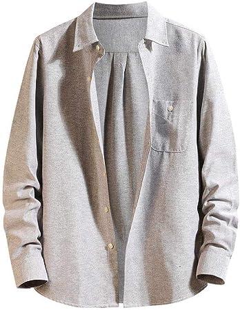 Wodechenshan Camisas Casual para Hombre,Mens Harajuku ...