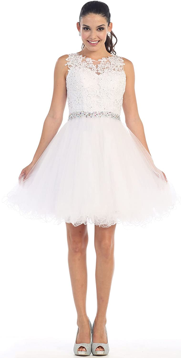 May Queen by Formal Dress Shops Inc FDS1280 Semi Formal Homecoming Dress