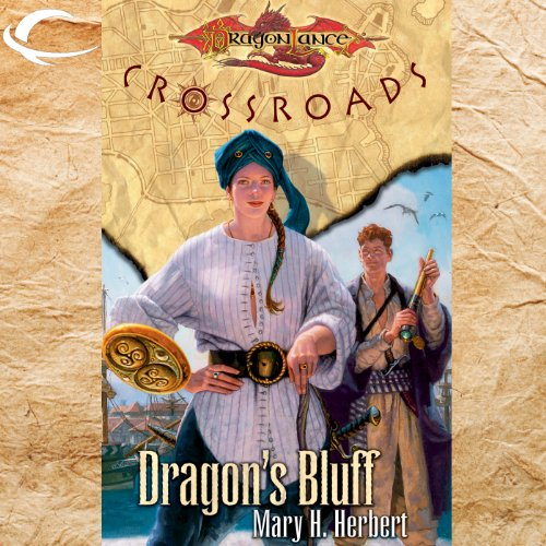 Dragon's Bluff audiobook cover art