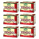 Tadin Herbal Dieter Tea Zendo. Natural Weight Loss Aid & Caffeine Free Blend. 24 Bags. 0.84 Oz - Pack of 6
