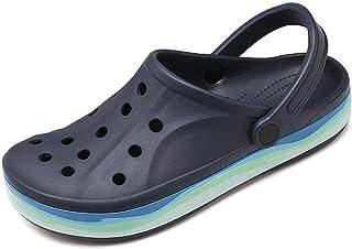 Chaussures aquatiques unisexes à enfiler confortables pour adultes - Sabots classiques doublés - Pantoufles plates - Sécha...