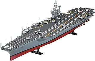 1:350 US Nimitz-Class Aircraft Carrier Model, Battleship Model, Manual DIY Assembled Adult Toys (23.6