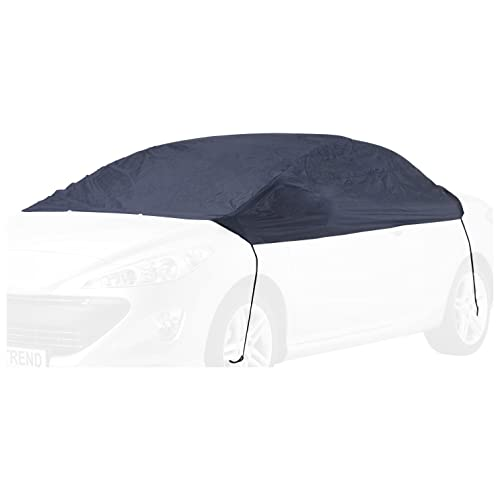 polyester blue weatherproof Cartrend Half car cover New Generation for BMW 5 series and similar models size XL