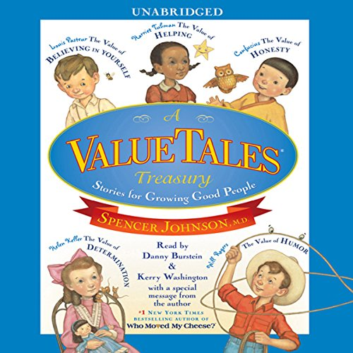 A ValueTales Treasury     Growing Good People One Story at a Time              By:                                                                                                                                 Spencer Johnson                               Narrated by:                                                                                                                                 TBA,                                                                                        Daniel Burstein,                                                                                        Kerry Washington                      Length: 1 hr and 4 mins     7 ratings     Overall 3.9