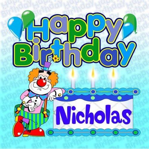 happy birthday nicholas Happy Birthday Nicholas by The Birthday Bunch on Amazon Music  happy birthday nicholas