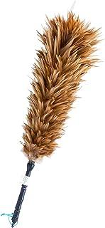 ESCI 【日本製】職人による手造り 毛ばたき 鶏毛 全長約55cm M-35