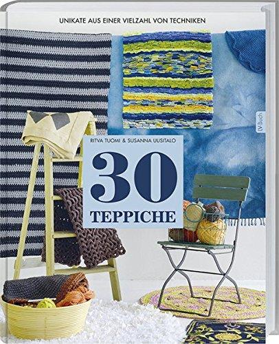 30 Teppiche: Unikate aus einer Vielzahl von Techniken.