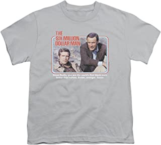 Six Million Dollar Man The First Unisex Youth T Shirt for Boys and Girls